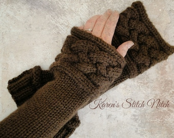 Outlander Inspired Wrist Warmers