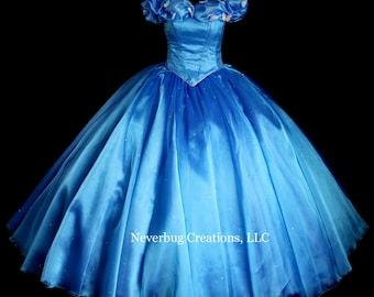 Cinderella 2015 Deluxe Custom Costume