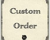 Custom order for Aimee/Grand Loop Yarns & Fibers