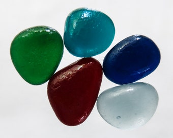 English Sea glass - Vintage colours -  lot DC889