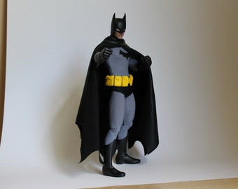 One of A Kind 12 inch High End Batman Year One action figure. Very Rare, Sculpted by Rocco Tartamella