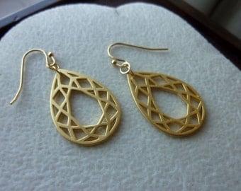 40% OFF SALE! - Geometric Teardrop Earrings