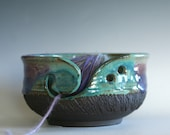 Knitting Bowl, Yarn Bowl, pottery yarn bowl, pottery knitting bowl, handmade ceramic yarn bowl, READY to Ship
