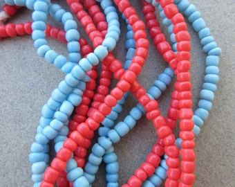 Glass Beads -6 Strands
