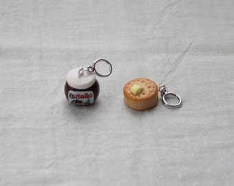 Stitchmarkers - Nutella and Crumpet - Stitch Markers