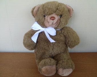"""Plush Teddy Bear,  Cuddle Wit Inc.. 18"""""""