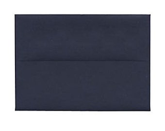 "A1 4 Bar, 3 5/8"" x 5 1/8 inch Square Flap Envelopes Navy Blue"