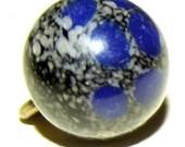 Antique Button Agate Gem Stone weskit waist coat button