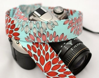 dSLR Camera Strap - Women's Accessories - Camera Strap - Chrysanthemum  - gift ideas under 30 - Gift for Photographers