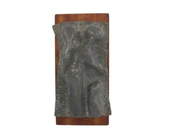 Mid Century Wall Sculpture - Original Artwork - Man Woman Child