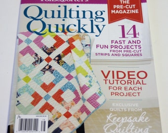 Quilt Magazine Fons & Porter's Quilting Quickly Magazine January/February 2016 Issue