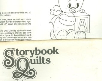 Storybook Quilts - Patches- to be appliqued to a Quilt
