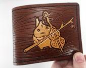 Makar - Zelda Inspired Hand Tooled Leather Wallet