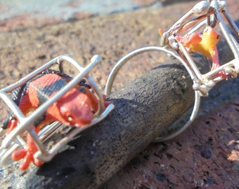Frog and Lizard Rings