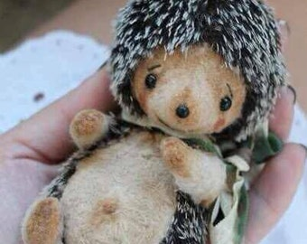 PDF file Sewing pattern For 5,5 inch hedgehog