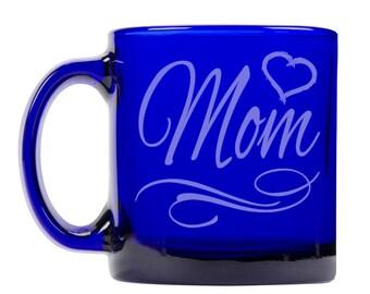 Colbalt Blue Coffee Mug 13oz -9260 Mom