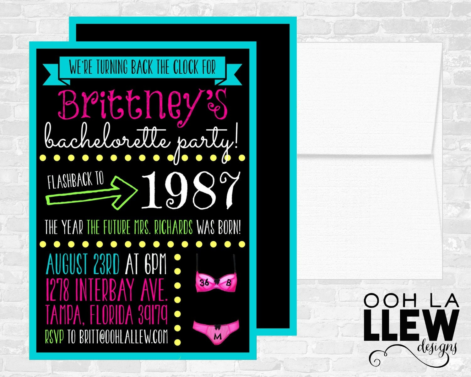 80S Invitations for beautiful invitations sample