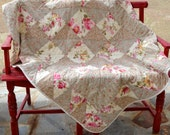 Shabby Chic New Vintage Floral Quilt