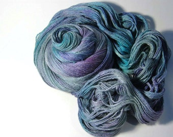 Silk Merino in Grey Iridescence - One of a Kind