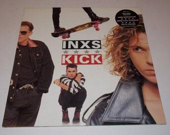 1987 - INXS - KICK  - LP Vinyl Record Album -  Classic 80's Rock - New Wave / Rock