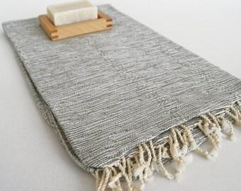 SALE 70 OFF / BathStyle Turkish Beach Bath Towel Peshtemal / Green / Wedding Gift, Spa, Swim, Pool Towels and Pareo
