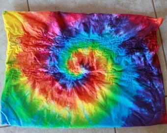 Tie Dye Bedding separates upcycled