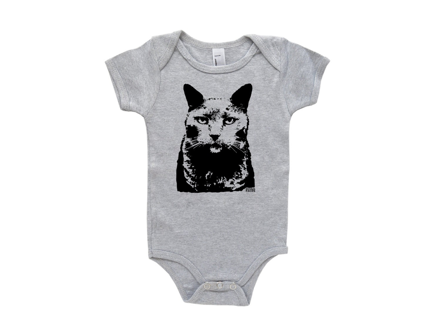Russian Blue Cat Baby epiece Cat Newborn Baby Clothes
