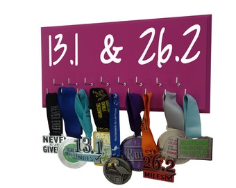 A successful Runner deserves a Medals Display Rack to display all is half-marathon and marathons race medals
