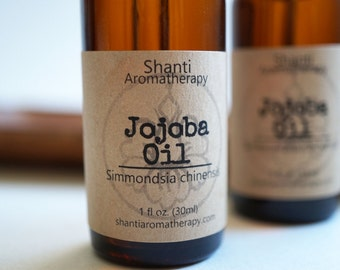 Pure Jojoba Oil - Natural skincare - natural moisturizer - natural hair care