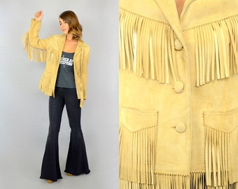 50's Fringed Suede Jacket