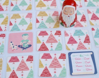 Merry Match Up Christmas Matching game for kids 4 to 104