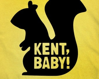 Yellow KENT, BABY Kids Shirt/Onesie
