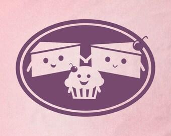 Pink CAKE FAMILY Kids Shirt/Onesie