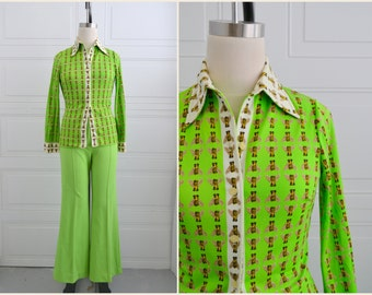 1970s Mr. Dino Bee Shirt and Pants Set