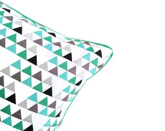 Teepee Triangle Geometric Cushion , cover only, cushion cover, pillow cover
