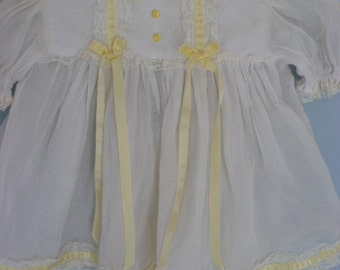 24 in Doll Dress, Slip, Cap