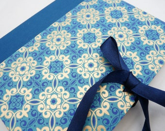 Royal blue sketchbook