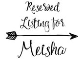 Baby Shower Party Package reserved for Meisha