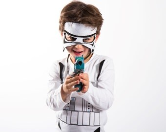 Stormtrooper Costume Star Wars Toddlers costumes 3PC kids costume Ready to ship Halloween costumes for kids.