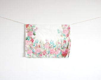 Floral Tissue Paper ...  DIY Paper Poms // product packaging// gift wrap // baby bridal shower favors // wedding favor