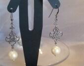 Recycled vintage earrings
