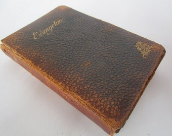 Evangeline by Henry Wadsworth Longfellow - Leather Edition - A Tale of Acadia - Classic Books