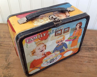 VIntage Family Affair Lunch Box