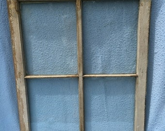 Farmhouse Window with glass, 36 x 29 inches