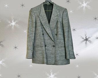 Men's Vintage Suit Jacket - 80s Louis Raphael Jacket - 38 Short - Unique Tweed