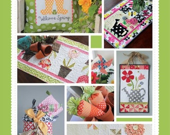 Oh the Possibilities For Spring Pattern Book designed by KimberBell