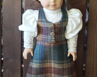 Anne of Avonlea walking suit for 18in American girl dolls