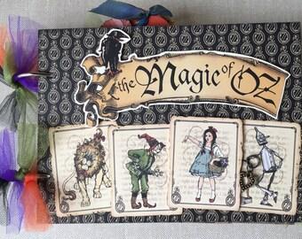 Wizzard of OZ/Magic of OZ 6x8 Chipboard premade album