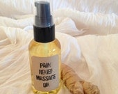 Pain Relief Massage Oil – Aromatherapy – Spa Treatment