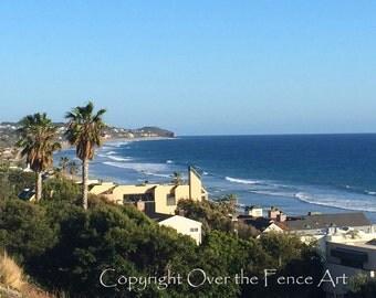 California Coast, Baby! Photo Card shore surf sand